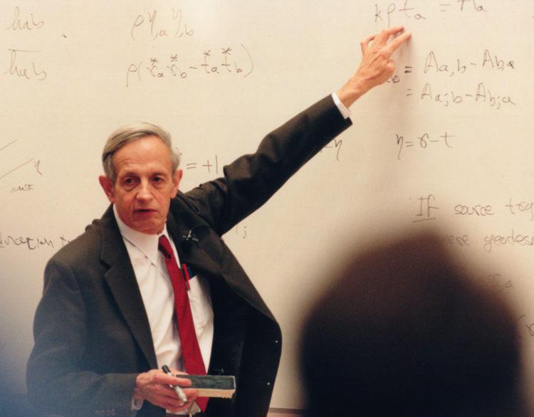 John Forbes Nash Jr. teaching