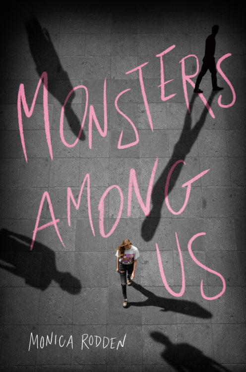 Cover of Monsters Among Us by Monica Rodden.