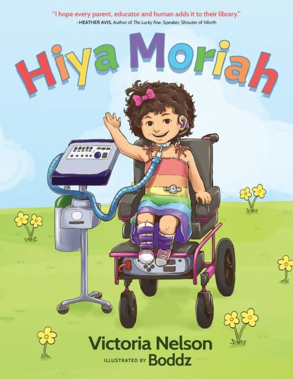 "Cover of ""Hiya Moriah"""