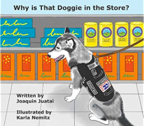 "Cover of ""Why is the doggie in the store"""