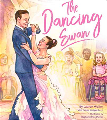 "The cover of ""The Dancing Swan"""